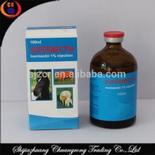 Injectable ivermectin veterinary medicine