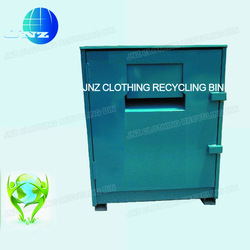 recycle clothing container manufacturer