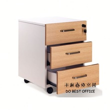under desk cabinet push open system/ mobile pedestal E-061 for promotion
