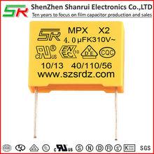 interferon suppression film capacitor 4uf 250v