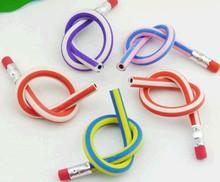 novelty flexible pencil pvc bendy pencil