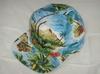 Hawaii Floral Five Panel Snapback Baseball Hats , Poly Cotton Sunscreen Cap