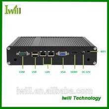 Iwill ZPC-H6-X4, dual core 1037U mini desktop PC