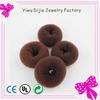 women headdress black blonde beige hot bun magic hair style doughnut donut bun ring shaper