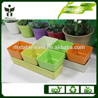 BAMBOO FIBER planter pots/PLANT FIBER flower pots/artificial fllower black vase wholesale