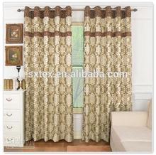Customized Jacquard Curtain Fabric Decoration Window Curtain
