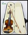 Excelente qualidade de violino tamanho 4/4,3/4,1/2,1/4,1/8 violino mini