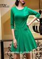 verde fair lady vestido sexy recém design vestido