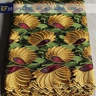 2014 noble embroidery sequins fabric/ heavy african swiss voile lace for sale