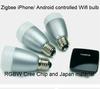 payment asia alibaba china zigbee gateway module led bulb E27, wherever you can control it