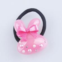 YIWu YiDa wholesale fashion kids hair accessories mini color hair band polyester resin elastic hair band
