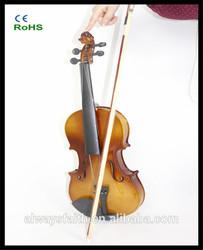Hot!! Alibaba Wholesale basswood violin compare with carbon fiber violin