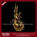 decorativa bronze jardim jardim antique bronze estátua de buda