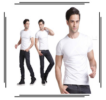 Men's clothing cotton male o-neck tshirt original logo manufacturer SHIRTS TEE
