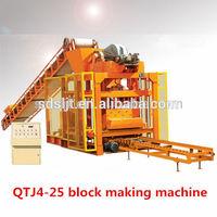 QT4-25 cement concrete brick making machine united arab emirates