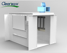 Top Quality Customised Powder Spray Booth for Wood Powder Coating at Competitive Price