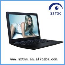 13.3 inch cheap laptops with built in webcam RAM 2G/4G HDD 160G/250G/320G/ 500G netbook WinXP/7 Intel D2500 notebook pc