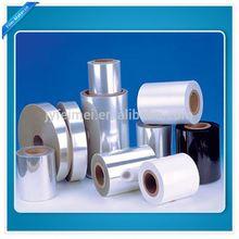 2014 metallized pet plastic film for packaging transparent pet film