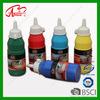 colouful 250ml plastic bottle reflective acrylic paint