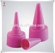 de plástico boquilla y la tapa