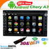 CEY-7021GDA support 1080P high resolution double din car gps for Chery