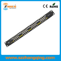 Patch Panel With PoE Power over Ethernet 16 Port Passive PoE Injector
