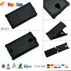 Custom for nokia lumia 520 pu flip cover, for nokia lumia 520 leather flip case