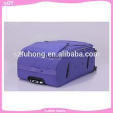 100% pure PP portable trolley case aluminium trolley case travel luggage bag belt