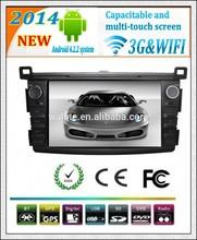 8 inch android 4.2 3G WIFI Toyota RAV4 car entertainment