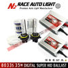 HOT Sale!!Lifetime warranty 12v 35w HID xenon kit slim ballast