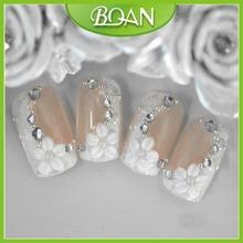 Wholesale Beautiful Nail Tips Art Nail Artificial Nails