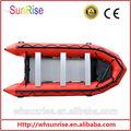 Haute- performance pvc trifaze bateau gonflable de l'eau