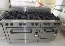 Restaurant equipment gas stove oven,commercial kitchen gas stoves