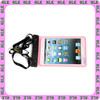 pink PVC waterproof case for vatop tablet pcs