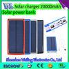 Solar Power Bank 20000mAh for mobile phones / ipad /other electronics,boss power bank,energizer power bank