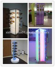 acrylic display heads