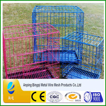 PVC plastic coated pet house & colorful animal cage