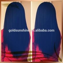 Factory Price 100% Virgin Human Hair wigs peruvian hair lace wigs glueless silk top virgin full lace wig free shipping