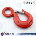 usado liga anel chave giratória slip gancho com trava para venda quente