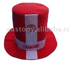 Flashing Carnival Hat,national flag's hat,soccer hat,football fan's hat,carnival hat,magician hat,promotion hat,waterproof hat