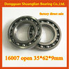 High quality Double Shielded Thin Section bearings 16007