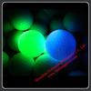 XHL-G Led golf ball round decorative glass snow ball