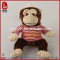 personalizado de alta calidad musical al por mayor de juguetes electrónicos de peluche de felpa mono el canto y el baile del perro de juguete de los animales