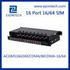 12 Months Warranty!!! Ejoin 16 port / channel GSM Goip gateway Voip Gateway 64 sim voip betamax dellmont