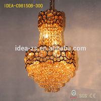 C98150B beaded crystal acrylic chandelier,crystal chandelier centerpieces,purple crystal chandelier color