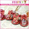 adorable bow tie summer dog shoes, pet shoes wholesale