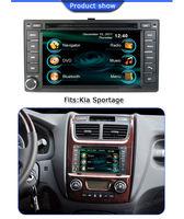 Free shipping Touch Screen Car DVD Player for Kia Sportage/Sorento/Cerato With GPS Navigation/Bluetooth/Ipod/Radio multimedia