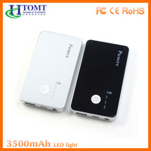 Factory Direct Sales Mirror Power Bank Connect With USB Cable