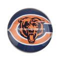 Y3071841 animaux, lion. imprimé de football américain des dessins pendentif camée mise en. Plus récent ronde. 25mm cabochon de verre.