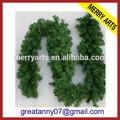 Mercado de yiwu china grossista fabricantes de decoração de natal artificial pinheiro guirlanda& coroas